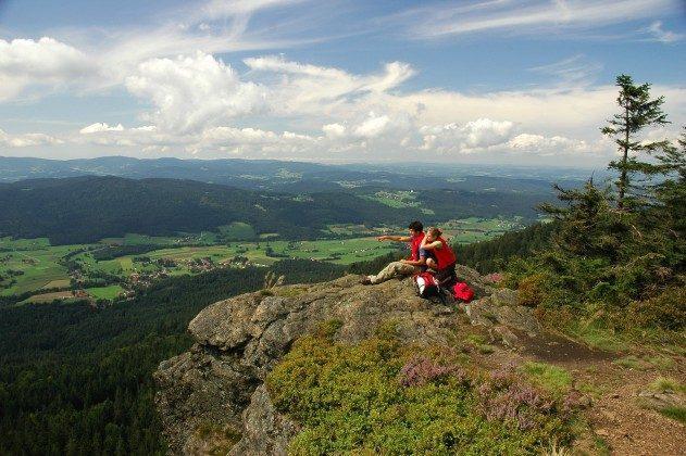 Aussicht vom Kaitersberg