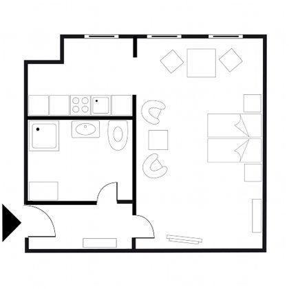Berlin Schönhauser Allee Studios Beispiel Grundriss