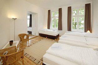 Apartment Berlin Prenzlauer Berg Wohn-Schlafzimmer