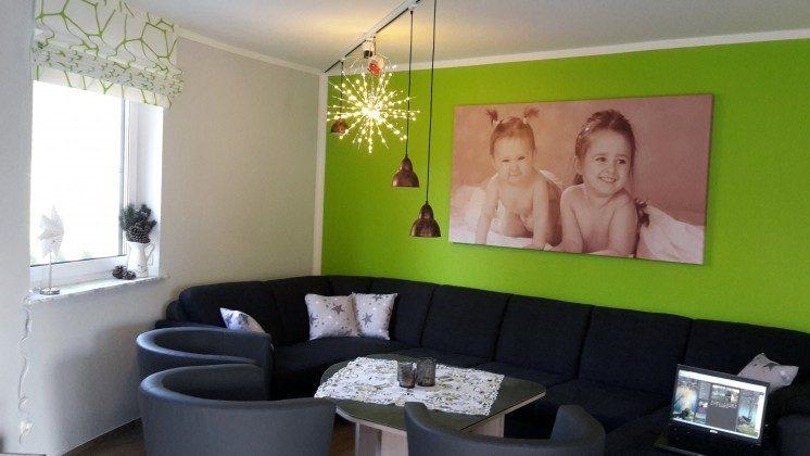 Ferienhaus Karola Am Kleinen Glubigsee Wohnzimmer Ref. 201202-1