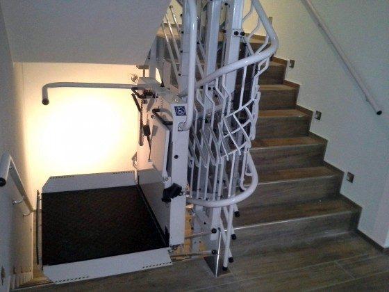 Ferienhaus Karola Am Kleinen Glubigsee Treppe mit Lift Ref. 201202-1
