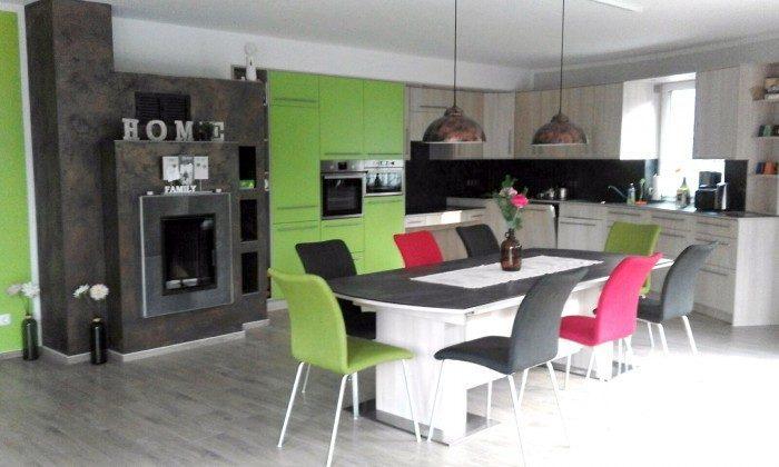 Ferienhaus Karola Am Kleinen Glubigsee Küche Ref. 201202-1