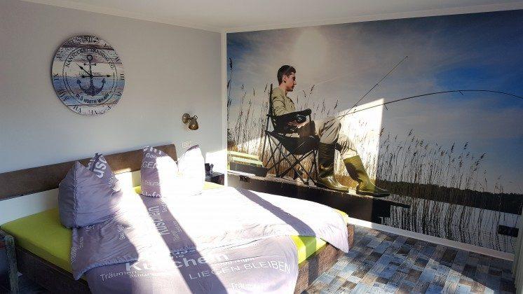 Ferienhaus Kathrin Am Kleinen Glubigsee Schlafzimmer 1  Ref. 201202-2