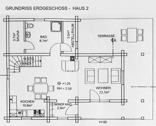 """Bild 12 - Harzblockhaus - Exklusiv """"Haus Hugin"""" - Objekt 152021-3"""