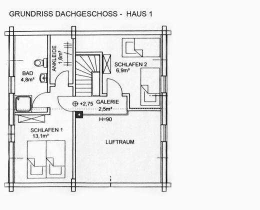 """Bild 3 - Harzblockhaus - Exklusiv """"Haus Munin"""" - Objekt 152021-2"""