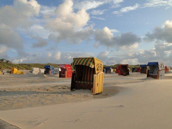 Am Strand vonJuist