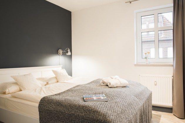 Schlafzimmer 1 105 Juist Turm - Ferienwohnung REF: 50957