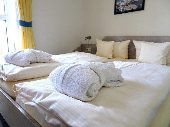 Juist Ferienwohnungen 205 Schlafzimmer 1