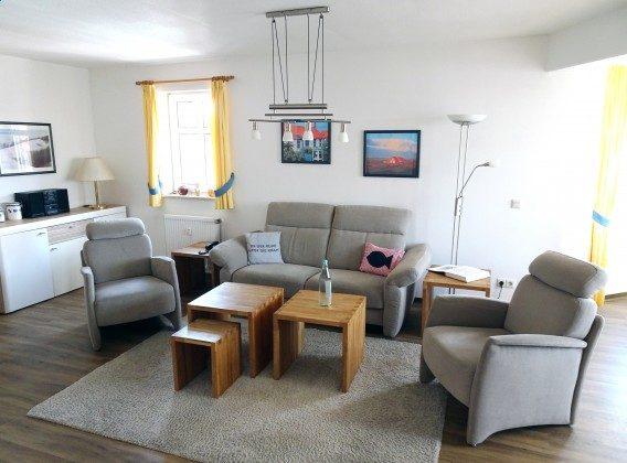 Juist Ferienwohnung 205 Wohnbereich