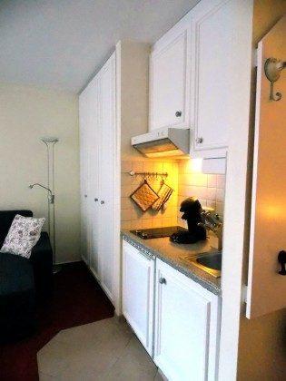 Inselresidenz Strandburg Wohnung 208 Küchenzeile