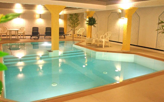 Inselresidenz Strandburg Schwimmbad