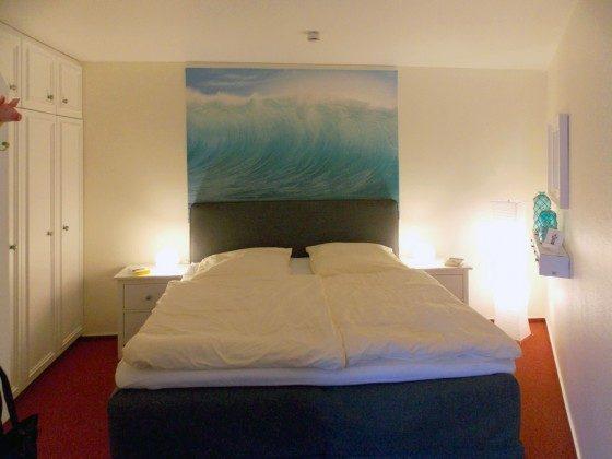 Inselresidenz Strandburg Wohnung 208 Schlafbereich