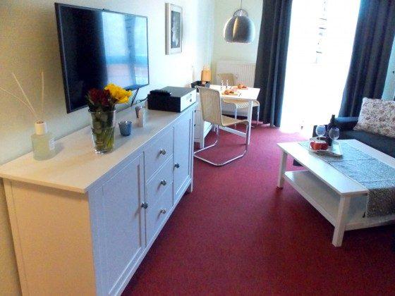 Inselresidenz Strandburg Wohnung 208 Wohnbereich