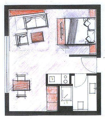 Grundriss Wohnung 210 Inselresidenz Strandburg