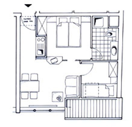 Apartment Juist  - Grundriss REF: 50969