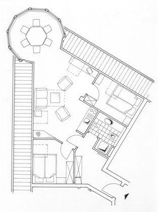 Grundriss Juist Turmferienwohnung 305 Ref 50973