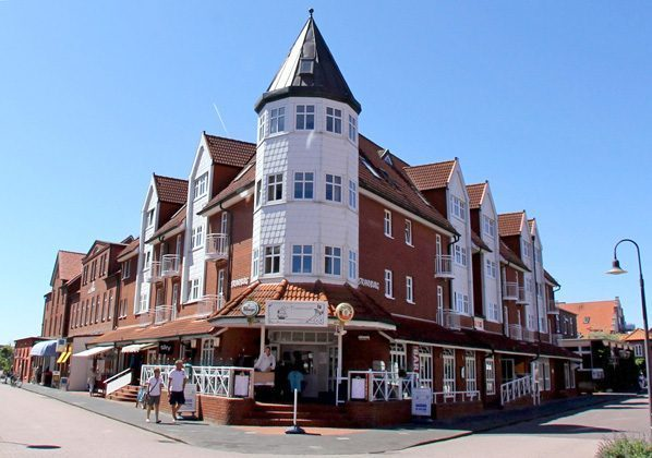 Aussenansicht Strandburg Juist Studio 309 Strandburg REF 50976