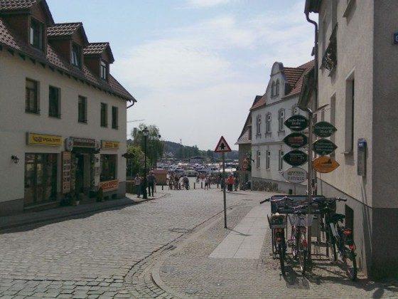 Altstadt Richtung Hafen Waren Müritz Ferienwohnung Ref. 168880-1