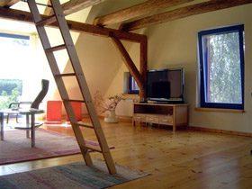 Mecklenburg M�ritz Ferienhaus Federow bei Waren