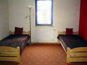 Mecklenburg M�ritz Ferienhaus Schlafzimmer