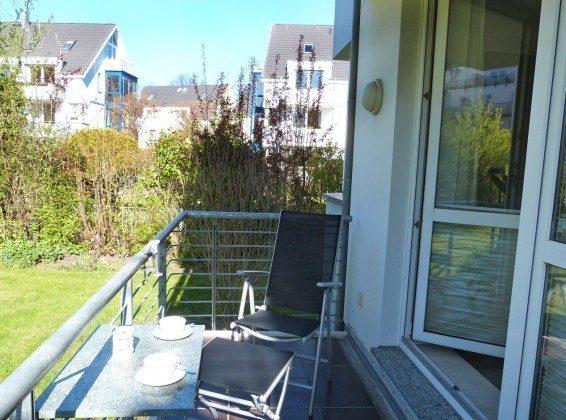 Balkon Ferienwohnung Katinka Warnemuende Ref. 153652