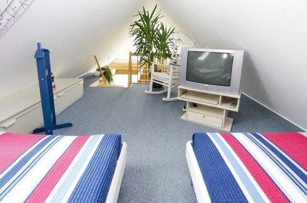 Galerie - Ferienwohnung Ref. 177019 - Dachboden // Schlafbereich mit 2 Einzelbetten