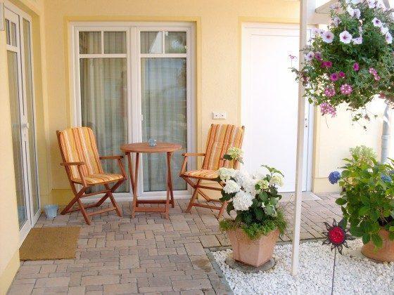 Warnemünde Apartment Fischer un sin Fru Terrasse