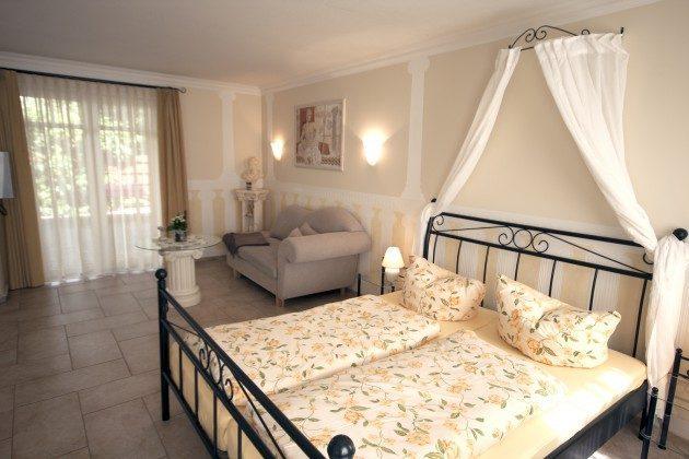 Warnemünde Apartment Rhodos Schlafbereich