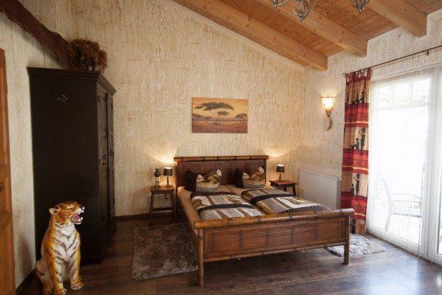 Warnemünde Apartment Afrika Wohn-/Schlafbereich