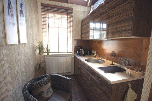 Warnemünde Apartment Afrika Küchenzeile