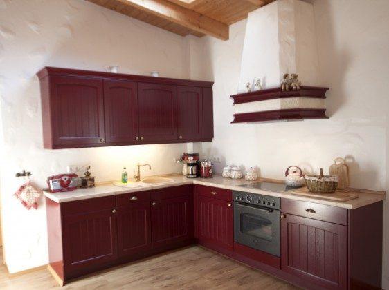 Warnemünde Apartment Kaisersuite Sissi Küchenzeile