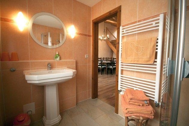 Warnemünde Ferienwohnung Sevilla Badezimmer