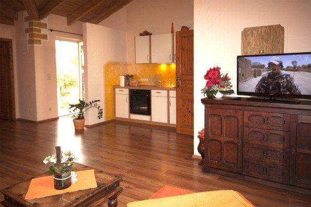 Warnemünde Ferienwohnung Sevilla Wohnzimmer