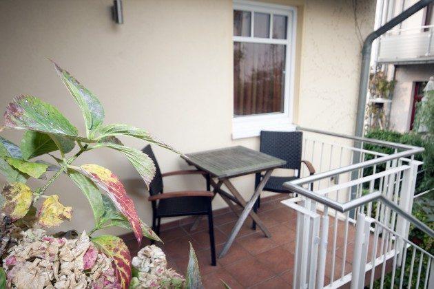 Warnemünde Ferienwohnung Sevilla Balkon