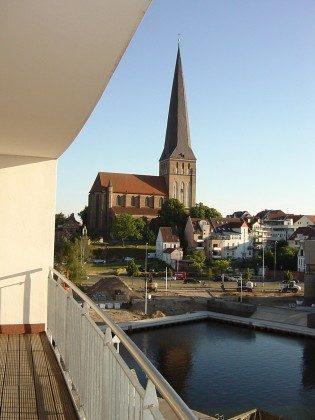 Warnemünde Ferienwohnung Pier 2 Balkon mit Blick Ref. 205442-1