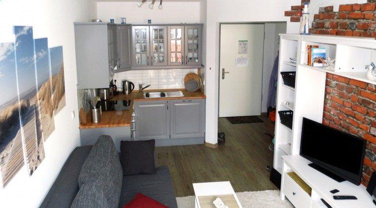 Haus Meeresblick Ferienwohnung Kiek Inn Küchenzeile Ref. 217338
