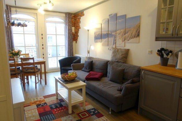 Haus Meeresblick Ferienwohnung Kiek Inn Wohnzimmer  Ref. 217338