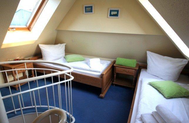 Sellin Neuensiener See Apartment 10 Schlafzimmer mit 2 Einzelbetten Ref. 201661