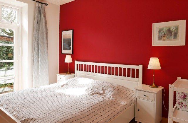 Schlafzimmer 1 Ferienhaus Alte Schule Tetenbüll nahe St. Peter Ording Ref. 2610-1