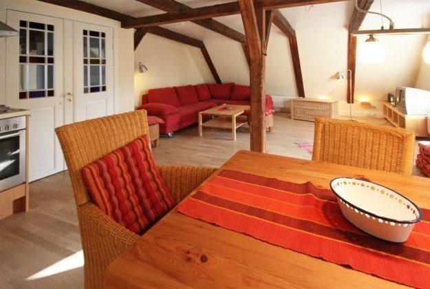 Wohnzimmer OG Ferienhaus Alte Schule Tetenbüll nahe St. Peter Ording Ref. 2610-1