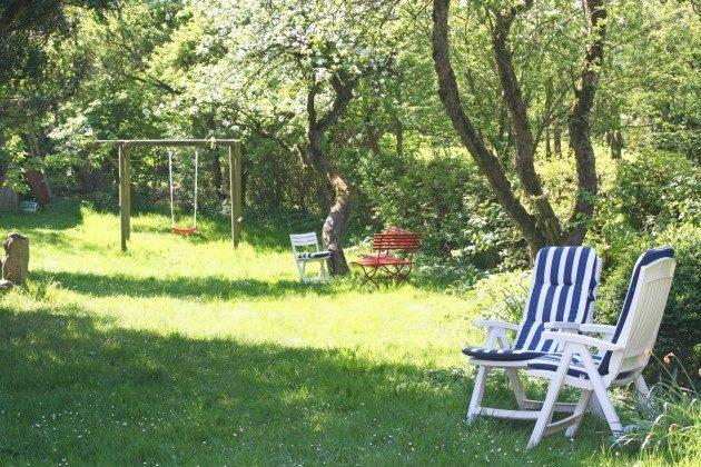 Garten Ferienhaus Alte Schule Tetenbüll nahe St. Peter Ording Ref. 2610-1