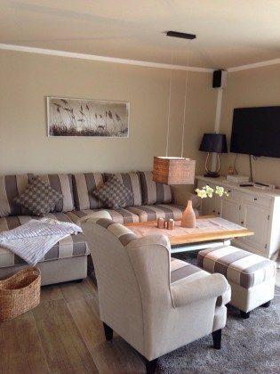 Wohnzimmer Uferschwalbe Dünengras Ostsee Ferienwohnungen unter Reet Ref: 109908-5