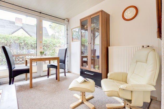 Ferienhaus Darss am Strand Wohnzimmer Objekt 2662-1
