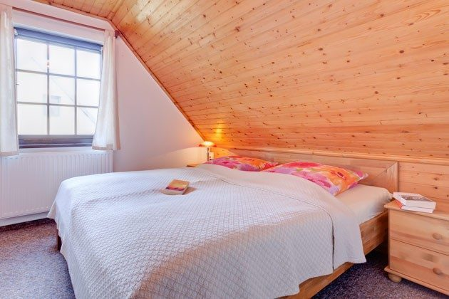 Ostsee Darss Fischlandhaus - Wohnung 1 - Doppelbettschlafzimmer - 2662-4