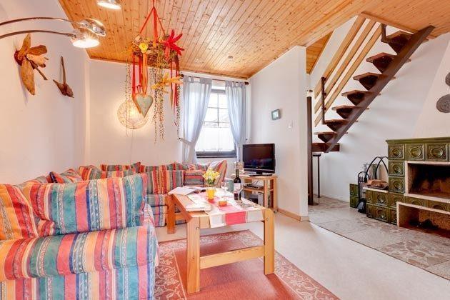 Ostsee Darss Fischlandhaus - Wohnung 1 - Wohnzimmer - 2662-4