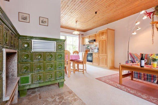 Ostsee Darss Fischlandhaus - Wohnung 1 - Wohn und Esszimmer - 2662-4