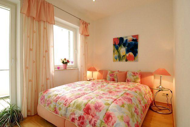 Ferienwohnung Warnemünde Schlafzimmer