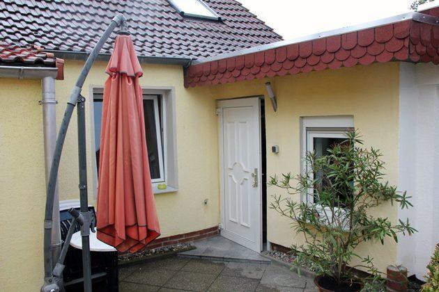Warnemünde Wohnung 2 Terrasse