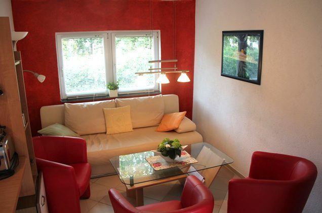 Warnemünde Wohnung 2 Wohnraum