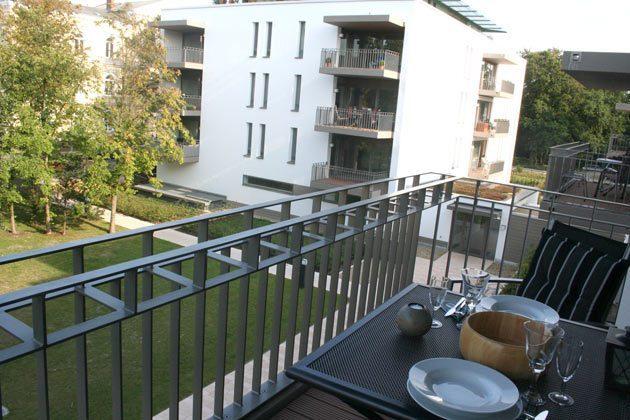 Balkon, Ostseetraum, Residenz im Kurpark